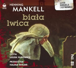 Biała lwica Henning Mankell Audiobook mp3 CD