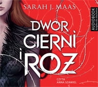 Dwór cierni i róż Sarah J. Maas Audiobook mp3 CD