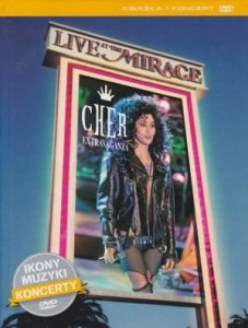 Cher Extravaganza: Live at the Mirage książka + koncert