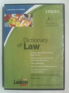 Dictionary of Law - LINGEA - CD - NOWA
