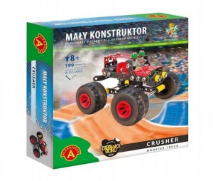 Mały konstruktor Monster Truck - Crusher