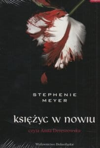 Audiobook - Księżyc w nowiu (CD mp3 audiobook) - Stephenie Meyer