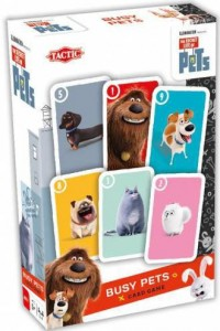 Secret Life of Pets Busy Pets Gra karciana